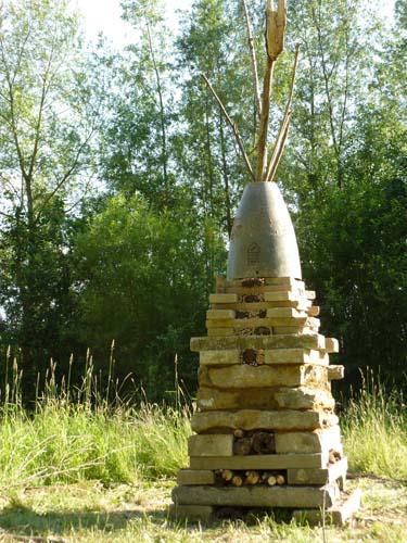 2011: de grootste beestentoren staat ih Zwembadpark i Aalst