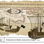 ontwerp van een takkenril piratenship