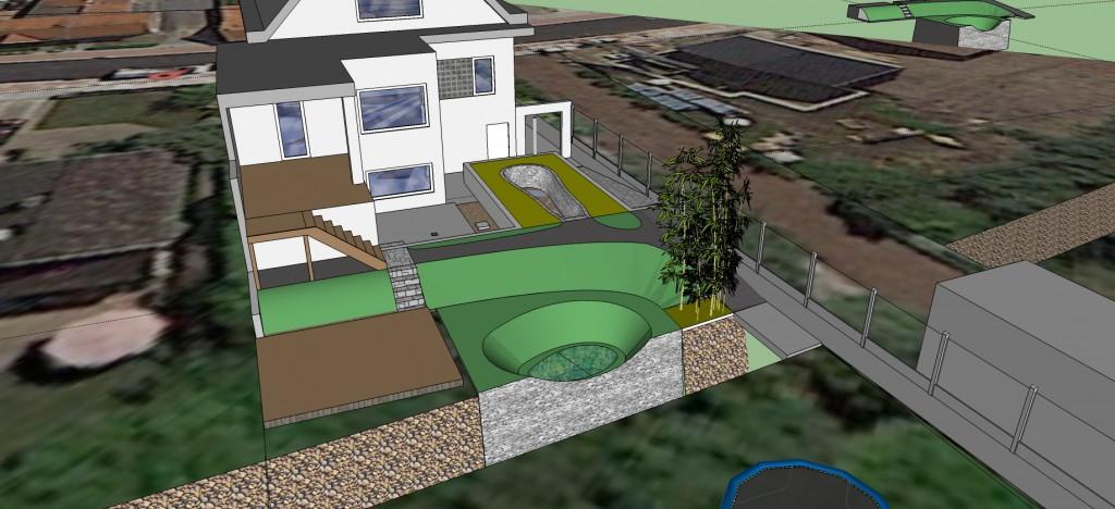 ontwerp van een wadi als overstromingsbuffer