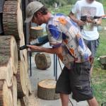 Boren in keihard hout: geen makkie!
